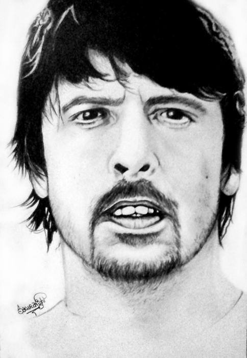 Dave Grohl by sakuranight